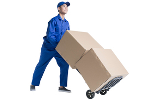 House-moving serviceの写真素材 [FYI02856465]