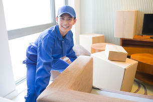 House-moving serviceの写真素材 [FYI02856526]