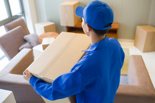 House-moving serviceの写真素材 [FYI02856553]