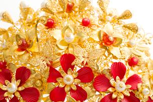Traditional Chinese wedding elementsの写真素材 [FYI02856572]