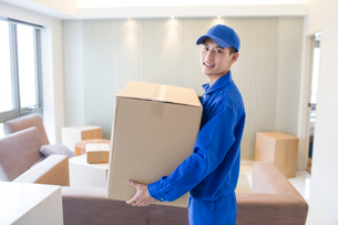 House-moving serviceの写真素材 [FYI02856595]