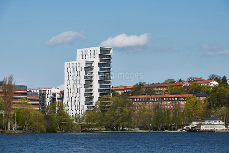 Alviks Tower in Stockholm, Swedenの写真素材 [FYI02856671]