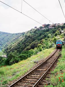 Italy, Velletri, Trainの写真素材 [FYI02856710]
