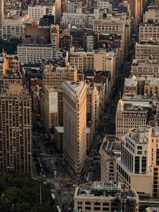 Cityscape of New York Cityの写真素材 [FYI02856767]