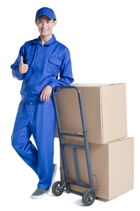 House-moving serviceの写真素材 [FYI02856785]
