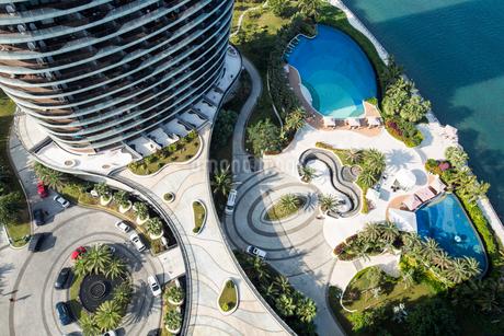 Luxury hotel in Sanya,Chinaの写真素材 [FYI02856800]