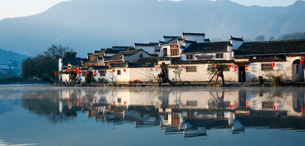 Hong village in Anhui province,Chinaの写真素材 [FYI02856886]
