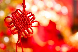 Traditional Chinese wedding elementsの写真素材 [FYI02856924]