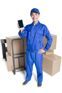 House-moving serviceの写真素材 [FYI02856933]