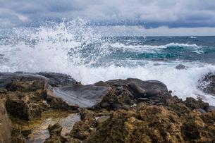 Kenting coast in Taiwan, Chinaの写真素材 [FYI02856971]