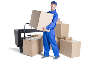 House-moving serviceの写真素材 [FYI02857031]