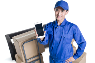 House-moving serviceの写真素材 [FYI02857308]