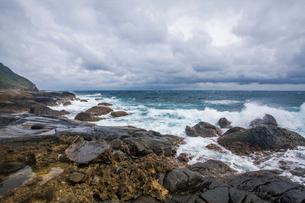 Kenting coast in Taiwan, Chinaの写真素材 [FYI02857373]