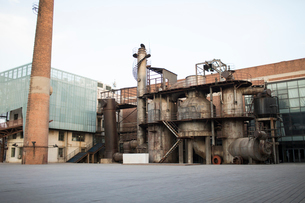 798 Art district in Beijingの写真素材 [FYI02857407]