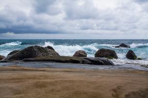 Kenting coast in Taiwan, Chinaの写真素材 [FYI02857417]