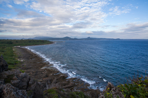 Kenting coast in Taiwan, Chinaの写真素材 [FYI02857496]