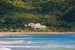 Kenting coast in Taiwan, Chinaの写真素材 [FYI02857498]