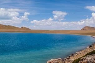 Namu Lake in Tibet, Chinaの写真素材 [FYI02857623]