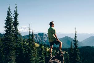 Goat Rocks Wilderness, Cascade Range, Washington, USAの写真素材 [FYI02857780]
