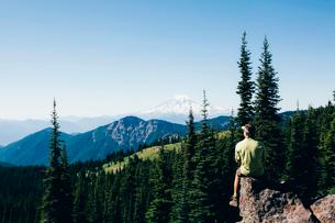 Goat Rocks Wilderness, Cascade Range, Washington, USAの写真素材 [FYI02858113]