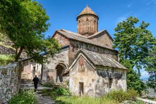 Exterior view of the medieval Sapara Monastery in the Akhaltsikhe District, Georgia.の写真素材 [FYI02859718]