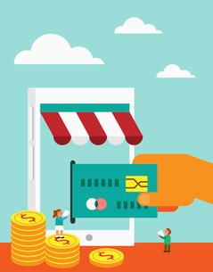 E-commerceのイラスト素材 [FYI02860513]