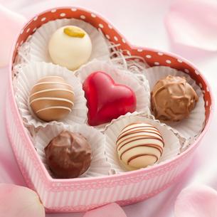 バレンタインチョコレートの写真素材 [FYI02860533]