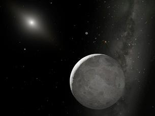 Artist's concept of Kuiper Belt objectの写真素材 [FYI02860664]