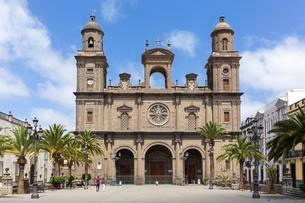 Cathedral of Santa Ana, Las Palmas de Gran Canaria, Granの写真素材 [FYI02860795]