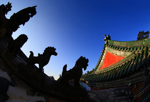 Wudang mountains;Hubei Province;Chinaの写真素材 [FYI02860886]
