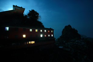 Wudang mountains;Hubei Province;Chinaの写真素材 [FYI02861056]