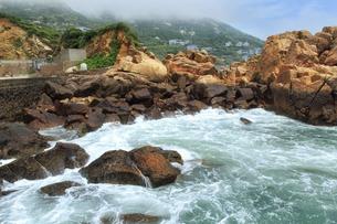The blue seaの写真素材 [FYI02861057]