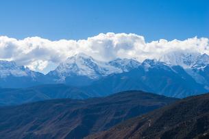 Overlooking of Meili Snow Mountainの写真素材 [FYI02861089]