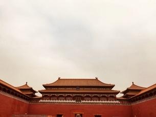 Beijing ,Forbidden City,Chinaの写真素材 [FYI02861117]
