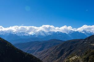 Overlooking of Meili Snow Mountainの写真素材 [FYI02861121]