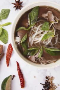 Beef noodleの写真素材 [FYI02861176]