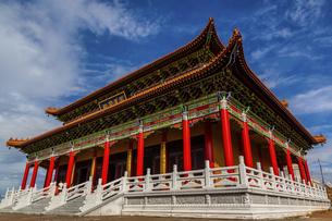 Feilong Temple in Dongping Fishing Port,Yangjiang, Guangdong, Chinaの写真素材 [FYI02861243]