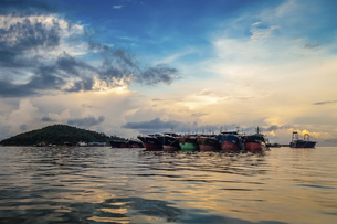 Dongping fishing port,Yangjiang, Guangdong, Chinaの写真素材 [FYI02861288]