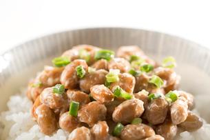 ご飯と納豆の写真素材 [FYI02861430]
