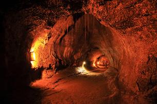 ハワイ島キラウエア火山 サーストン・ラバ・チューブの写真素材 [FYI02861433]