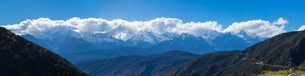 Panoramic View of Meili Snow Mountainの写真素材 [FYI02861751]