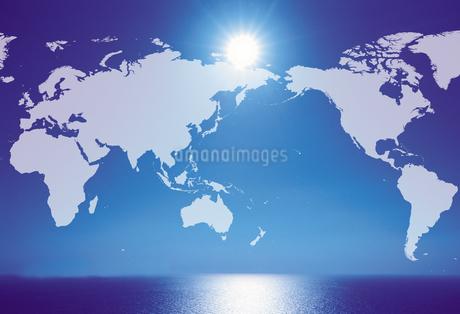 世界地図(CG合成)のイラスト素材 [FYI02862770]
