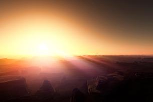 日の出の写真素材 [FYI02866398]