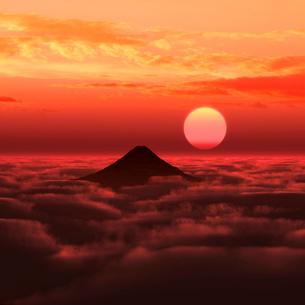 富士山の写真素材 [FYI02866410]