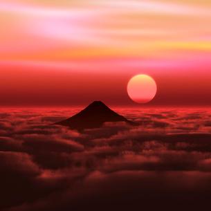 富士山の写真素材 [FYI02866435]