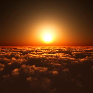 日の出の写真素材 [FYI02866463]