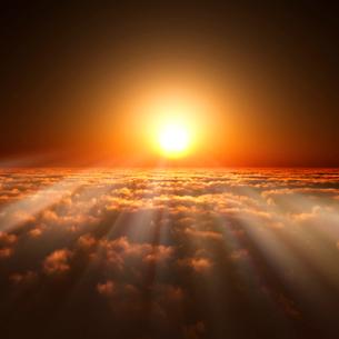 日の出の写真素材 [FYI02866479]