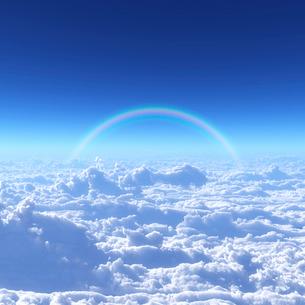 青空と雲海の写真素材 [FYI02866492]