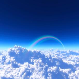青空と雲海の写真素材 [FYI02866496]