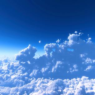 青空と雲海の写真素材 [FYI02866571]